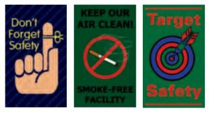 safety slogan mats